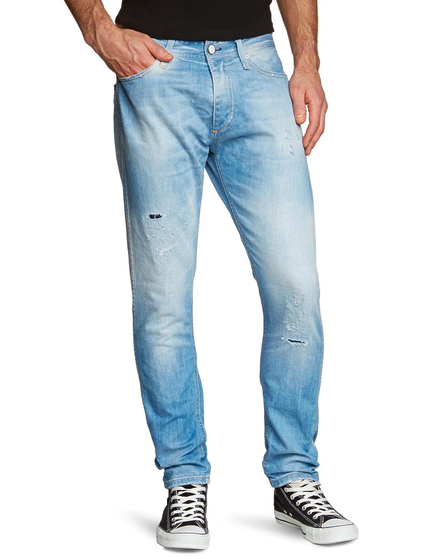 JACK & JONES Herren Jeans Normaler Bund 12063946 ERIK ORIGINAL BL 142