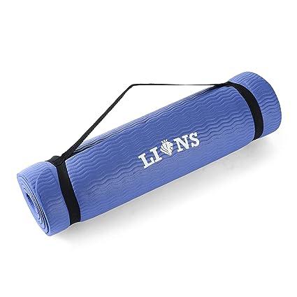 Lions® NBR Esterilla de Suelo Antideslizante para Yoga ...
