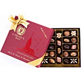 Bistro Chocolate Box Luxury Selection - Gourmet Truffles - Natural and Healthy Snacks Pack for Adults & Kids - Valentines, Bi