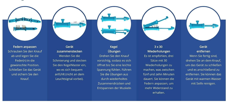 Amazon.com: Kegelmaster 2000 Advanced Progressive Kegel Exercise ...