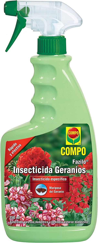 Compo 2036202011 Insecticida Geranios 750ml, 26x11x5 cm