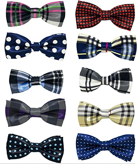 UK/_ Cute Boys Girls Polka Dots Bow Tie Formal Party Wedding Bowtie Gifts Little