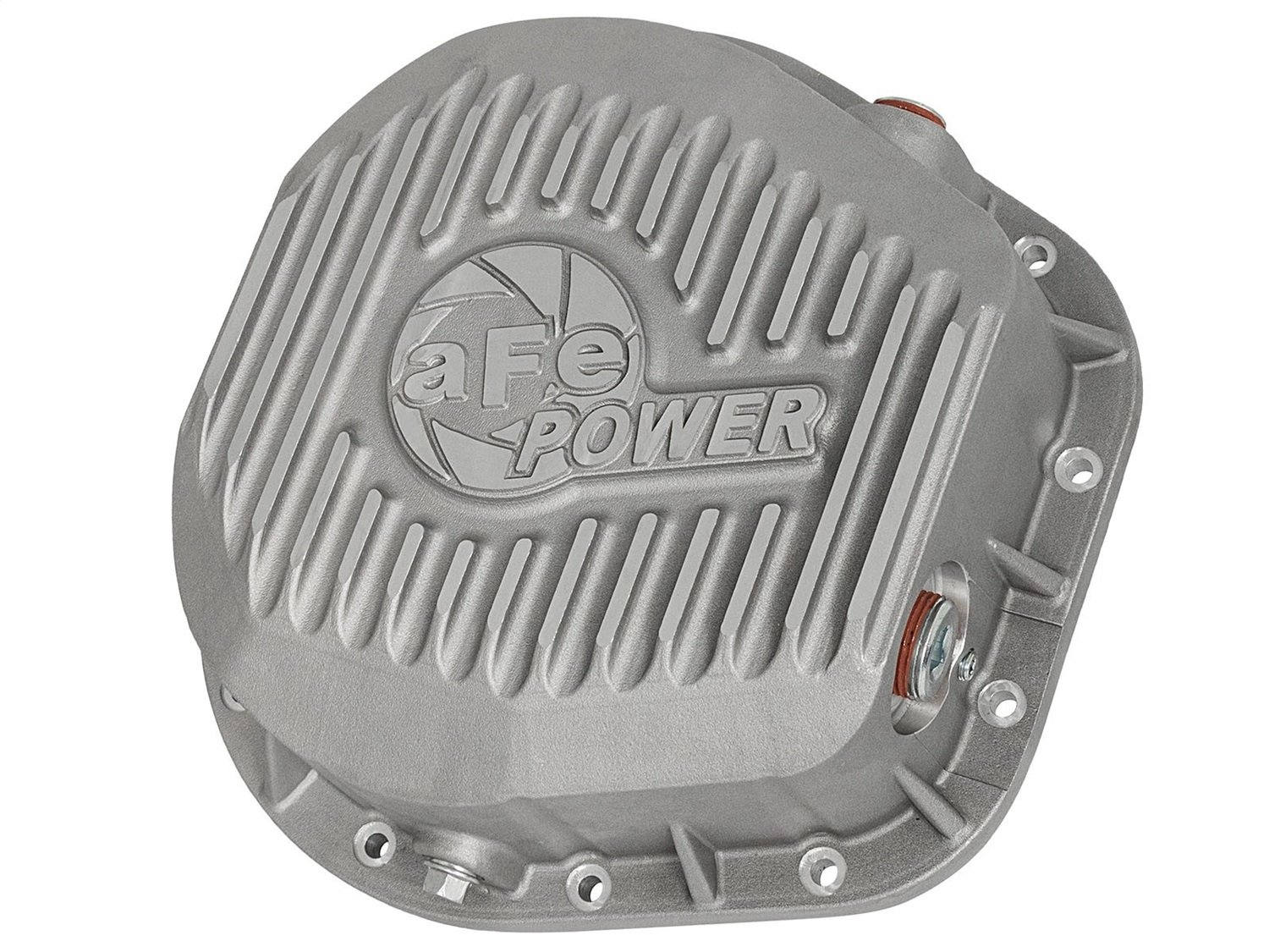 aFe Power 46-70020 FordF-250/F-350/Excursion Rear Differential Cover (Raw;Street Series)