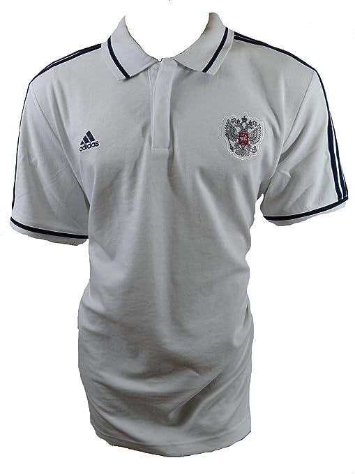adidas Rusia Polo Camiseta Talla M: Amazon.es: Deportes y aire libre