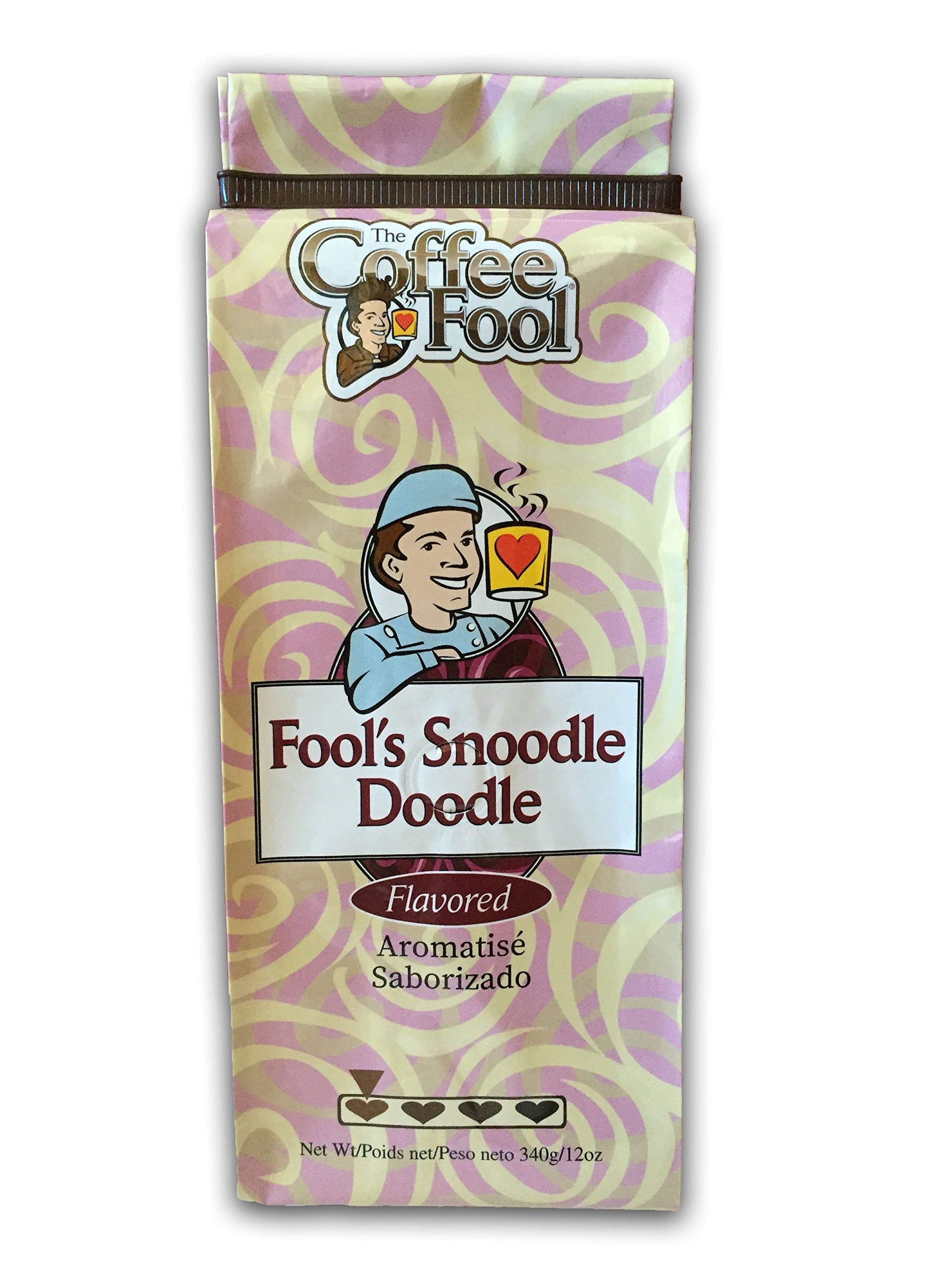 The Coffee Fool Turkish (Powder) Coffee, Fool's Snoodle-Doodle, 12 Ounce by The Coffee Fool