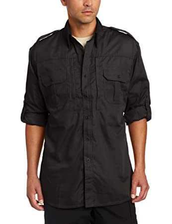 Amazon.com: Propper Men's Long Sleeve Tactical Shirt: Sports ...