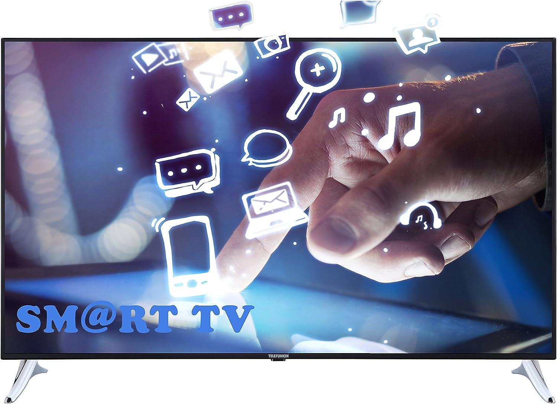 Televisor Telefunken XU65B401 de 165 cm (65 pulgadas) (4K Ultra HD, sintonizador triple, Smart TV): Amazon.es: Electrónica