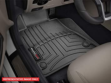 Amazon Com Weathertech Custom Fit Front Floorliner For Gmc Terrain Black Automotive