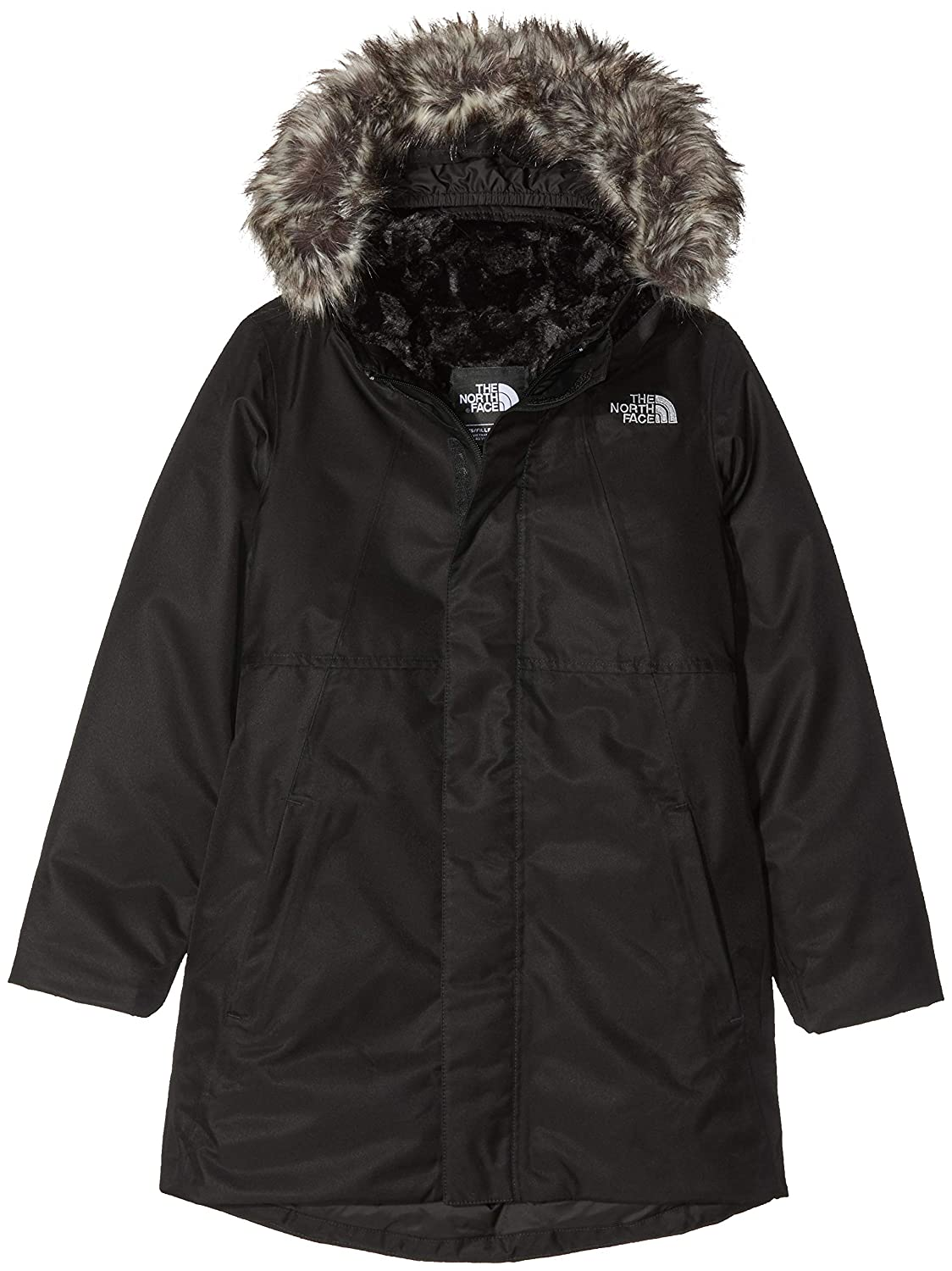 TNF Blk TNF Blk L The North Face Arctic Swirl Veste Fille