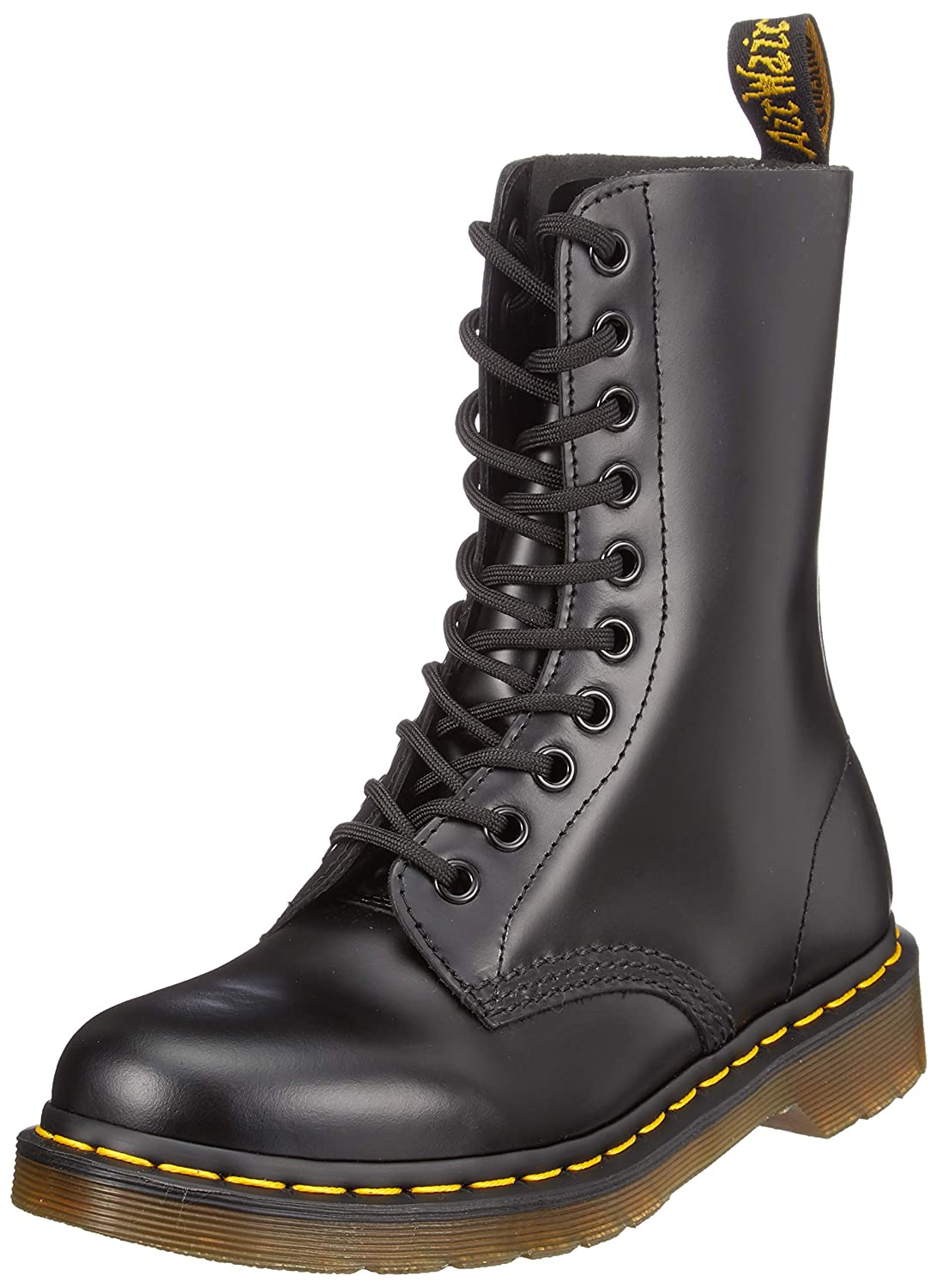 Dr. Martens 1490Z Smooth Black, Botas Unisex