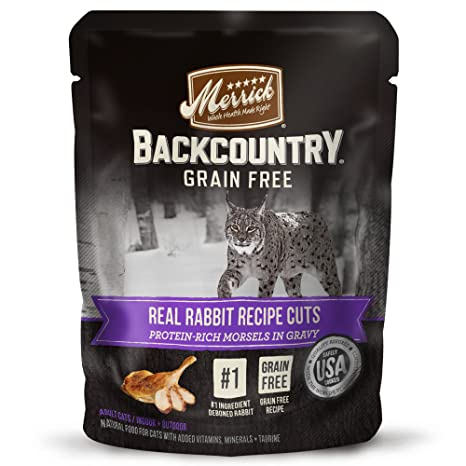Amazoncom Merrick Backcountry Grain Free Wet Cat Food 3 Oz 24