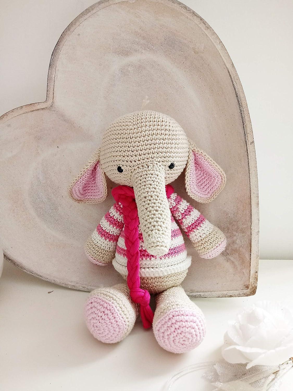 Adorable Elephant (Free Crochet Pattern) – One Zero Crochet | 1500x1125