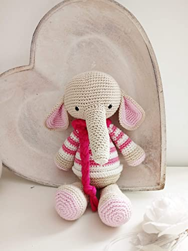 Ravelry: Amigurumi Elephant pattern by Viktorija Dineikiene | 500x375