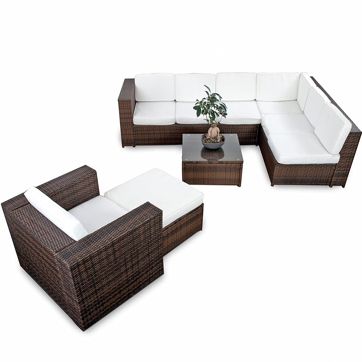 Outdoor loungembel polyrattan loungemobel polyrattan for Loungemobel outdoor kissen