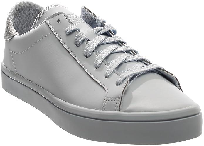 new arrival 94bda 3629f Amazon.com   Adidas Men Court Vantage Adicolor (blue   halo blue) Size 13  US   Fashion Sneakers