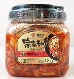 徳用 宗家(チョンカ)キムチ(白菜キムチ)1.2kg 要冷蔵