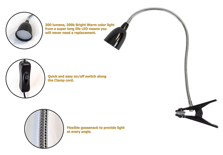 Desk Mount Magnifier Lamp