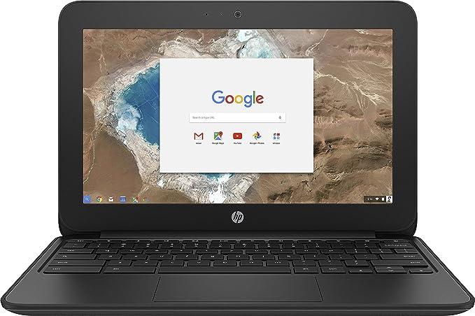 HP 1FX82UT#ABA Chromebook - 11 G5 EE 11.6 inches 1366 x 768 Intel Celeron N3060 Dual core (2 Core) 1.60 GHz 4 GB RAM 16 GB SSD 16 GB Flash Memory Chrome OS HD Graphics 400 (Renewed) | Amazon