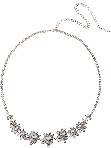 New Look Flora Floral Chain, Cinturón para Mujer