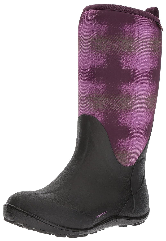 Columbia Women's Snowpow Tall Print Omni-Heat Snow Boot B01NAL2691 10 B(M) US|Purple Dahlia, Olive Drab