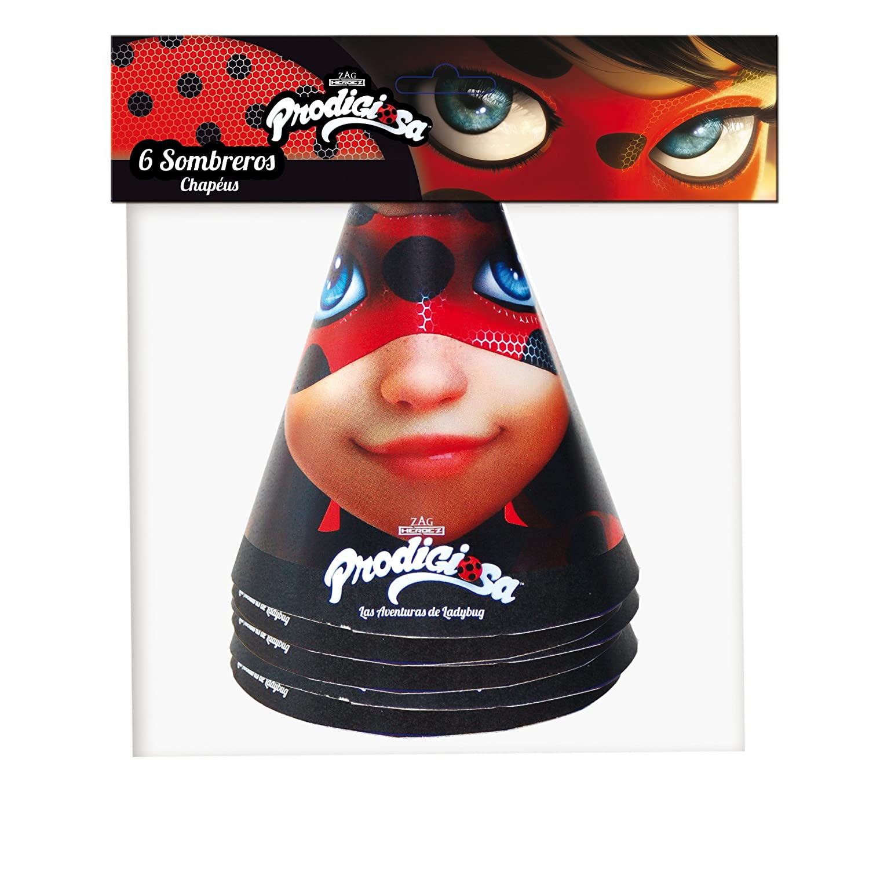 Lady Bug – Pack of 6 Hats (verbetena 016000873)