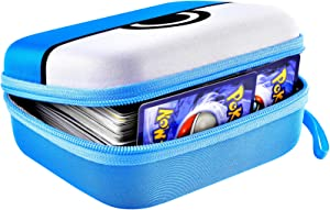 Cards Holder Case for PM TCG Cards, Card Game Storage Binder, Card Box Fits for PM Ex/ GX and All Assorted Cards - Holds Up 450 Cards(Box Only)