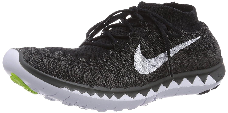 6fe8da3ab79 denmark nike womens free 3.0 flyknit running shoes schwarz black white  midnight fog volt 3 amazon
