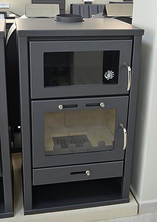 Estufa de leña para estufa de estufa de horno con caldera integral ...