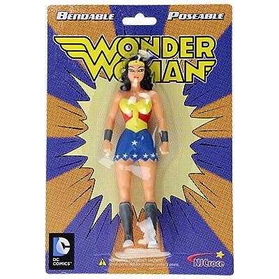 NJ Croce Wonder Woman New Frontier Action Figure: Toys & Games