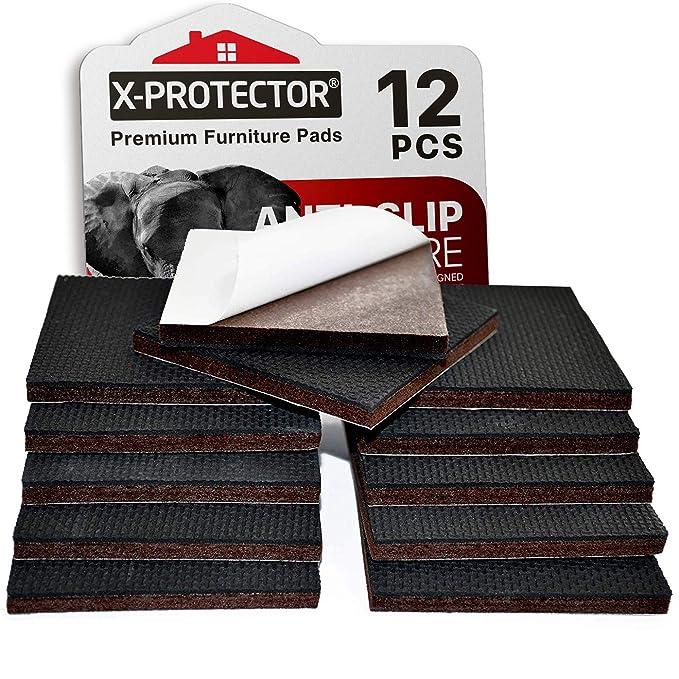 Non Slip Furniture Pads X Protector Premium 12 Pcs 3 Ctor Premium 24 Pcs 1 12 Furniture Pad Best Furniture Grippers Rubber Feet Furniture Floor