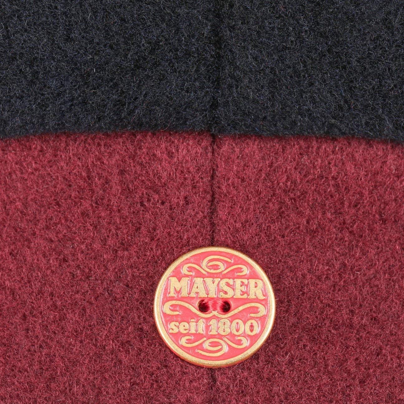 Mayser Fia Wool Damenbaske Wollbaske Baskenm/ütze Baske Mit Futter