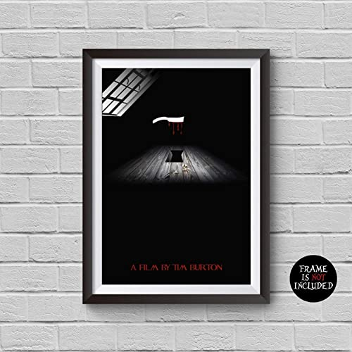 THE NIGHTMARE BEFORE CHRISTMAS MOVIE POSTER FILM A4 A3 ART PRINT CINEMA