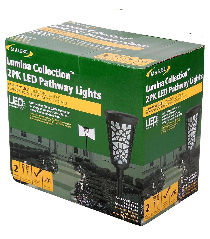 Malibu Lumina Led Pathway Lights 2 Pack Low Voltage Landscape Lighting On Wiring