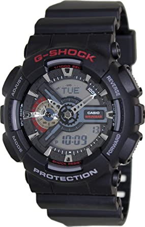 37d3d6f05fe Image Unavailable. Image not available for. Colour  Casio G-Shock  Analog-Digital Grey Dial Men s Watch - GA-110-