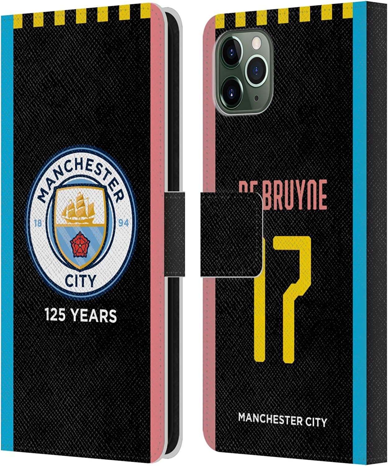 Official Manchester City Man City FC Sergio Ag/üero 2019//20 Players Away Kit Group 1 Leather Book Wallet Case Cover Compatible For Apple iPhone XR