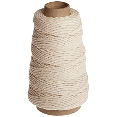 OXO Good Grips 100-Percent Natural Cotton Twine, 300-Feet, 300'/ 91.33 Meters, Off White: Kitchen & Dining