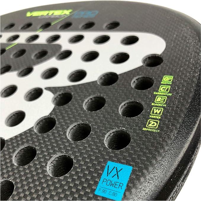BullPadel Vertex Carbon Pro LTD Rough Yellow: Amazon.es: Deportes ...