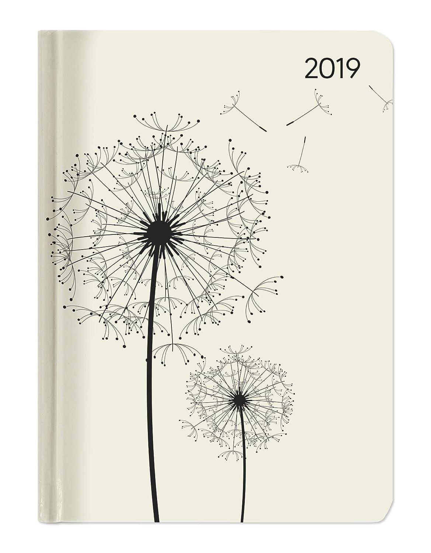 "Agenda settimanale Ladytimer 2019 /""Blowballs/"" 10,7x15,2 cm"