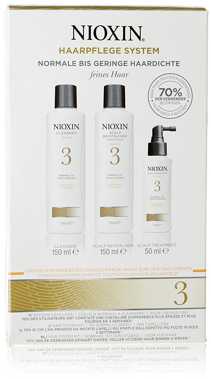 Nioxin 49237 Starter System 3 Kit Revitalizador de Cabello - 350 ml