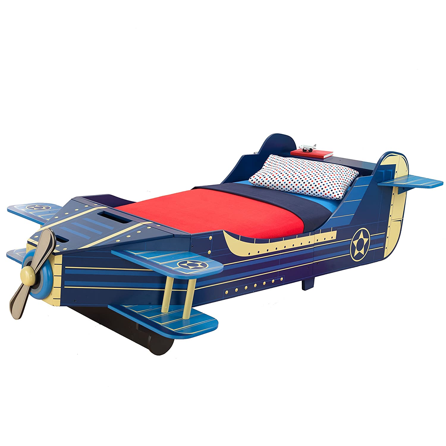 good Kidkraft Airplane Toddler Bed Part - 10: Amazon.com