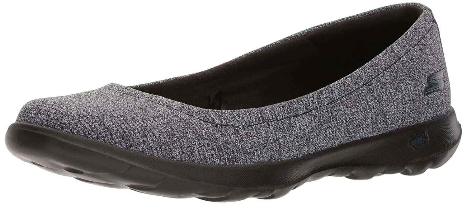 [Skechers Performance Women's] レディース Go Walk Lite - 15392 10 B(M) US ブラック/グレー B072R83CPZ