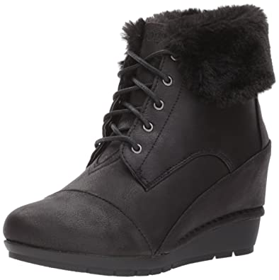 BOBS From Women's High Peaks-Flurry Dust Ankle Boot
