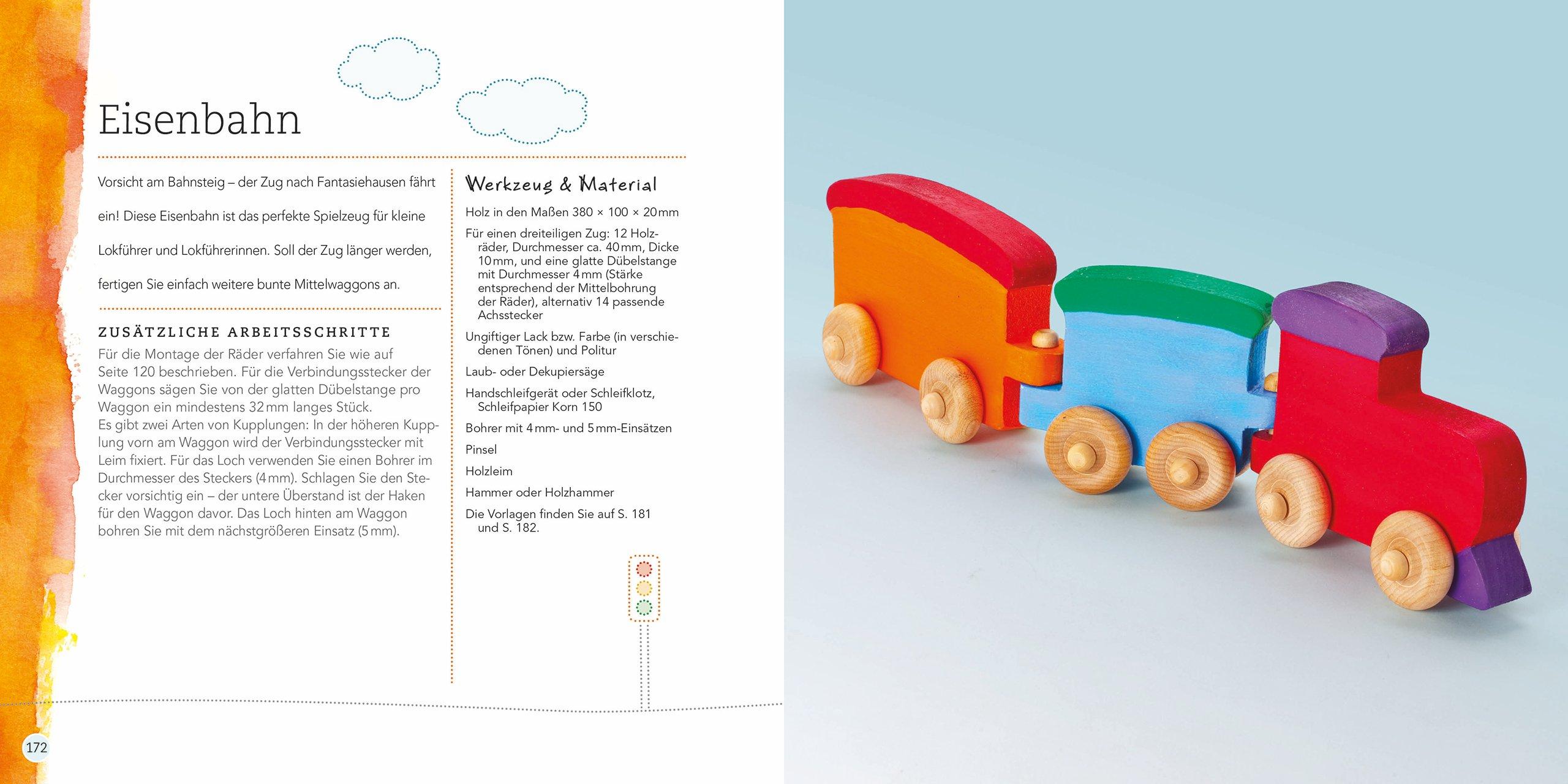 neu spielzeug aus holz selber machen buch tierspielzeug. Black Bedroom Furniture Sets. Home Design Ideas