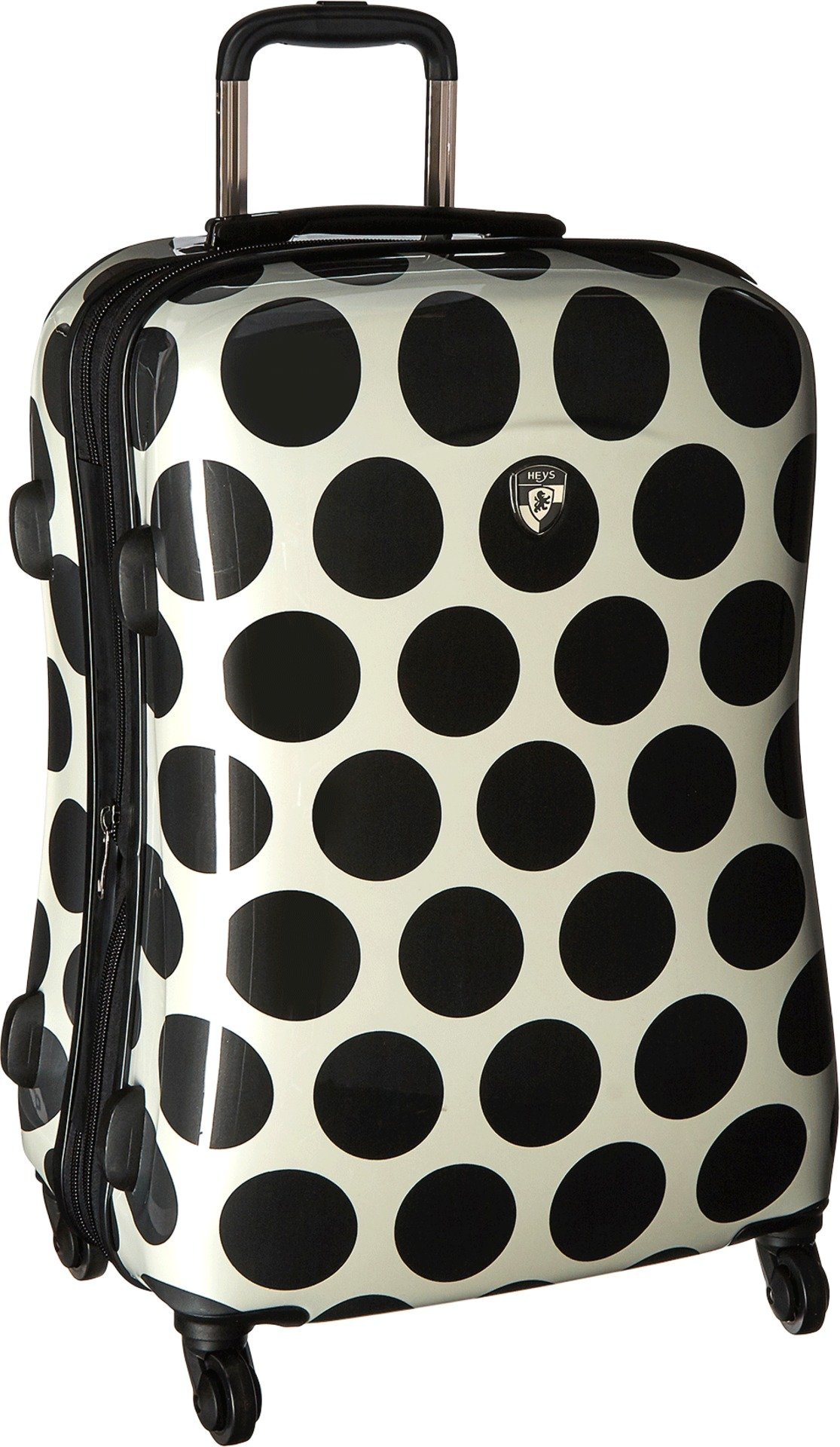 Heys America Unisex Spotlight 26'' Spinner Black/White Luggage by HEYS AMERICA