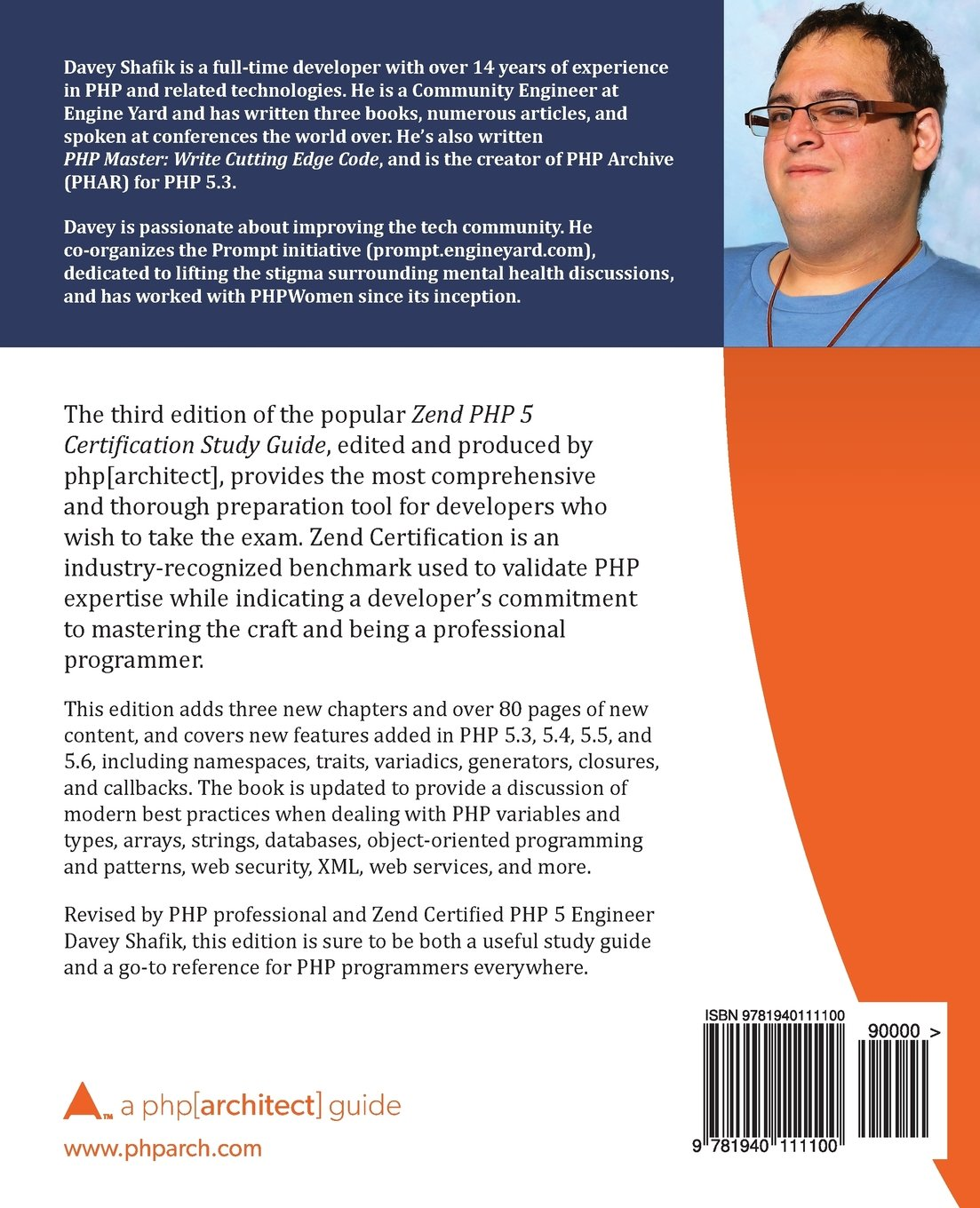 Zend certification study guide third edition davey shafik ben zend certification study guide third edition davey shafik ben ramsey oscar merida eli white kevin bruce 9781940111100 amazon books 1betcityfo Gallery