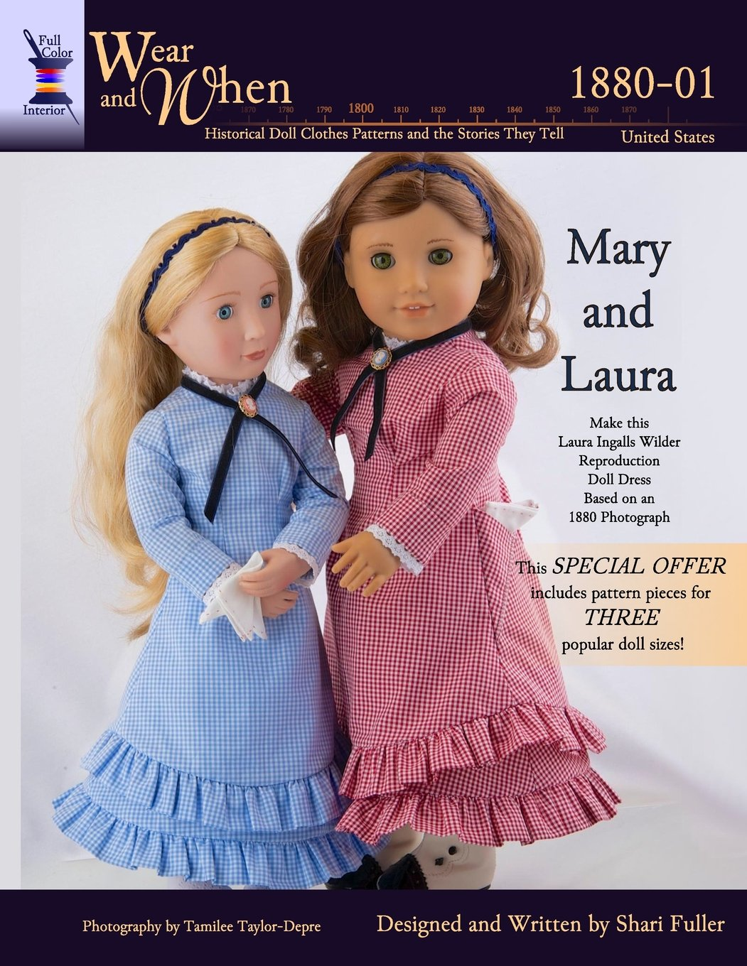Mary and Laura (Color Interior): Full Color (Wear and When)