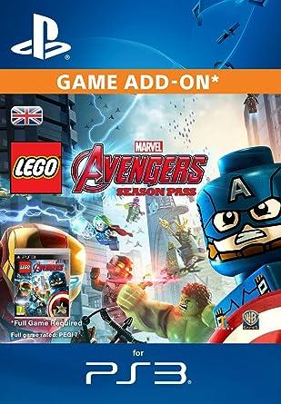 LEGO Marvel's Avengers Season Pass [PS3 PSN Code - UK account ...