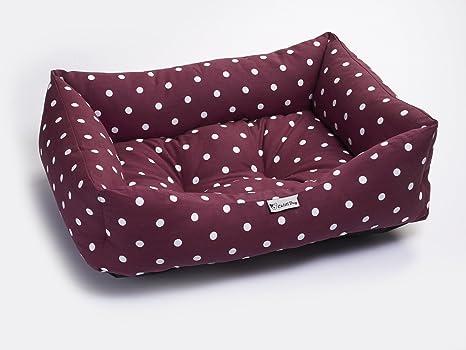 Chilli® - Cama para Mascotas Lavable con diseño de Lunares, tamaño Grande