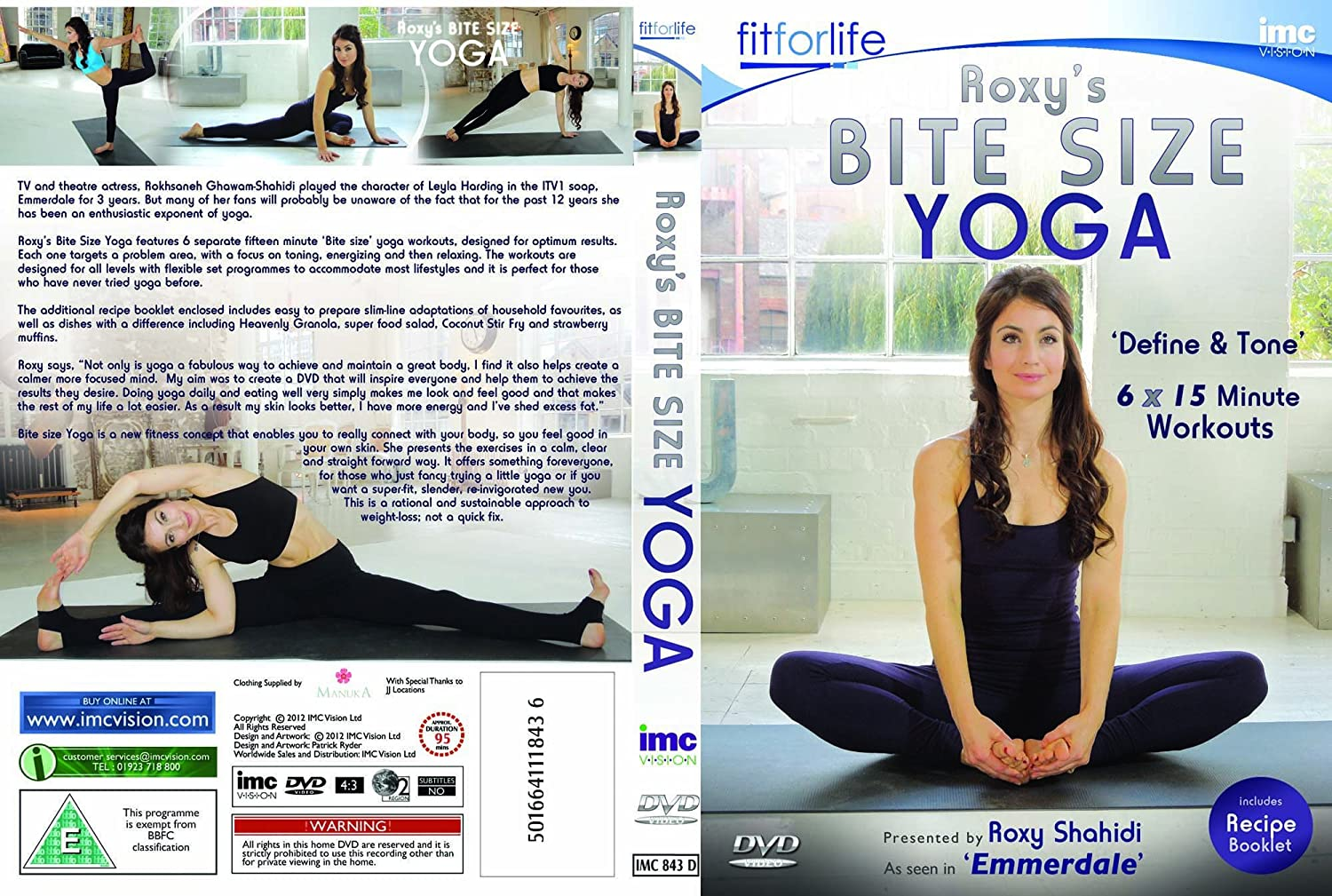 Roxys Yoga Workouts Leyla from Emmerdale ITV1 Double DVD Box ...
