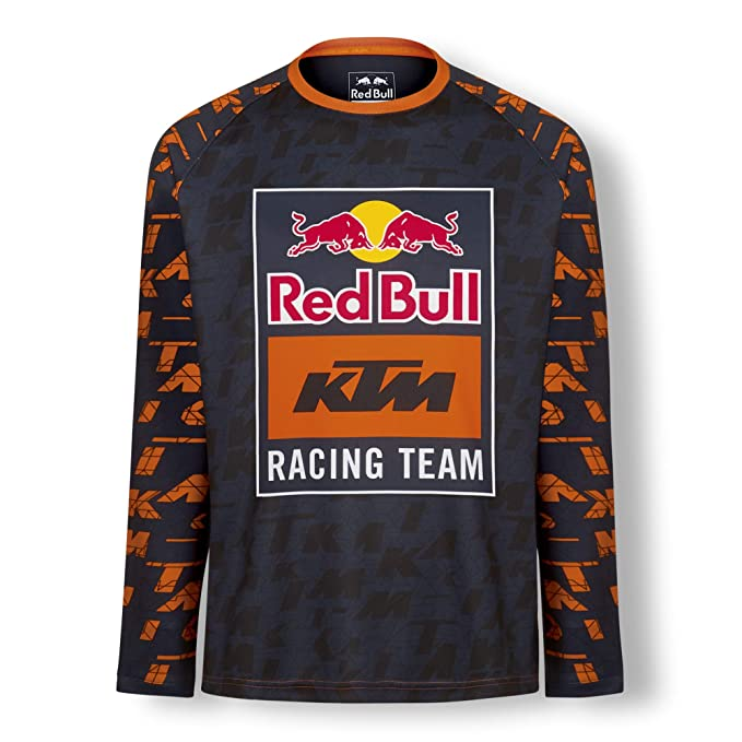 Amazon.com: Camiseta de Mosaico Red Bull KTM, azul para ...
